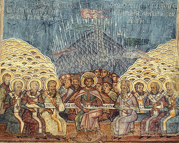 Duminica Sfinţilor Părinţi de la Sinodul I Ecumenic ( nu Ecumenist ...